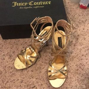 Brand new juicy couture high heels shoes